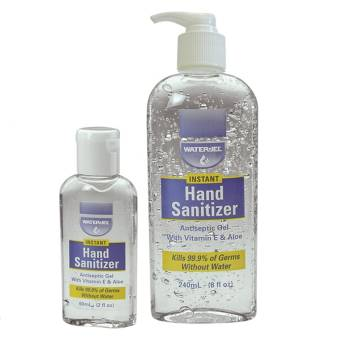 HAND SANITIZER WATER JEL - butelka 60 ml