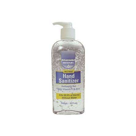 HAND SANITIZER WATER JEL - butelka 240 ml