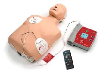 AED LITTLE ANNE - manekin tors do nauki defibryl.